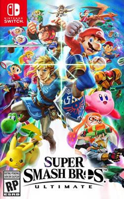 Cover of Super Smash Bros. Ultimate