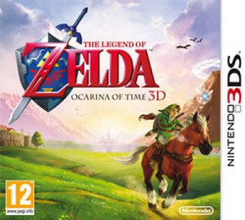 Cover of The Legend of Zelda: Ocarina of Time 3D