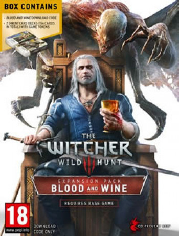 Cover of The Witcher 3: Wild Hunt - Blood and Wine