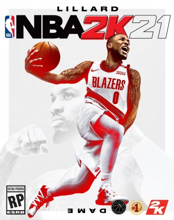 Cover of NBA 2K21